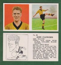 Wolverhampton Wanderers Ron Flowers England 44